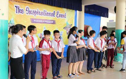 The Inspirational Event – Trường THCS Huỳnh Văn Nghệ