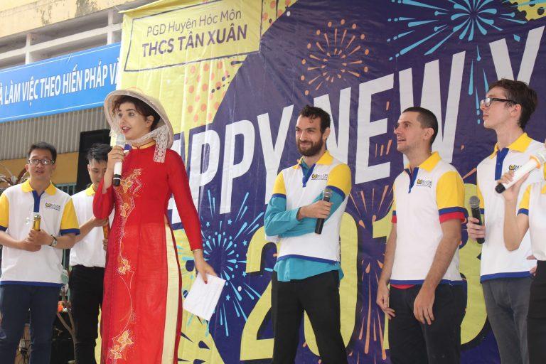 Trường THCS Tân Xuân4